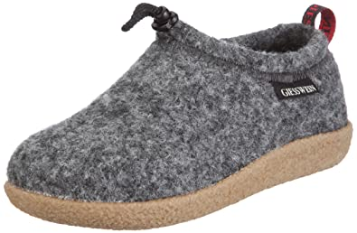 Giesswein Vent 52-10-47849, Chaussons mixte adulte - gris (anthracite) - V.1, 36 EU