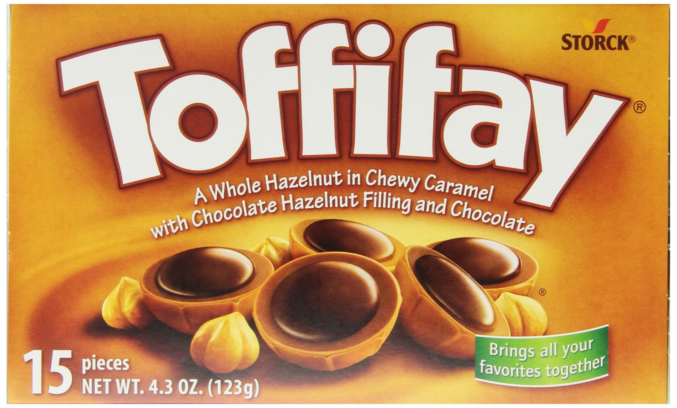 Toffifay Candy, 4.3-Ounce Packages (Pack of 12) by Toffifay