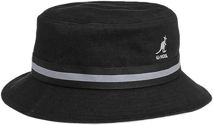 9c526b15e9c Kangol Stripe Lahinch Bucket Hat  Amazon.co.uk  Clothing