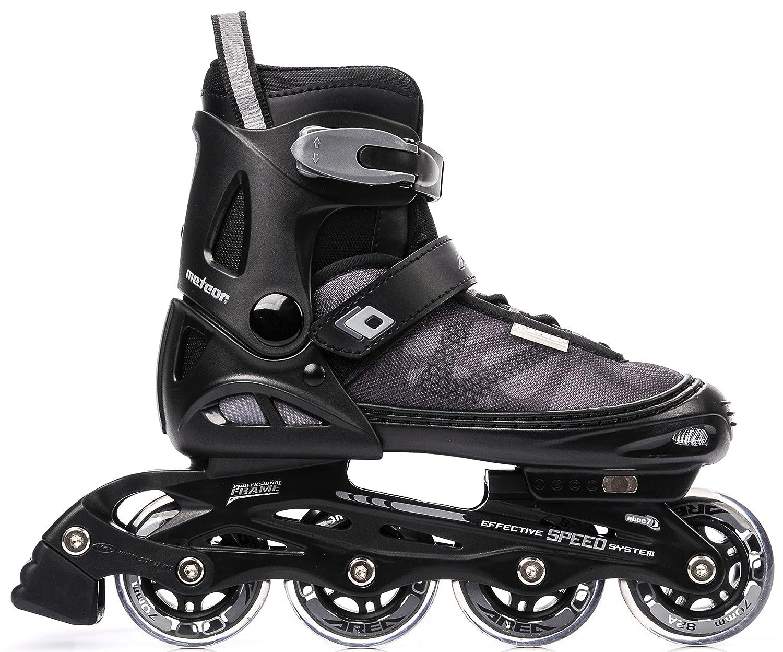 METEOR® AREA Patines en Línea | Niños | Mujer | Hombre | Inline Skates | ABEC7 de carbono | Tamaños ajustable | 30-33 / 34-37 / 38-41