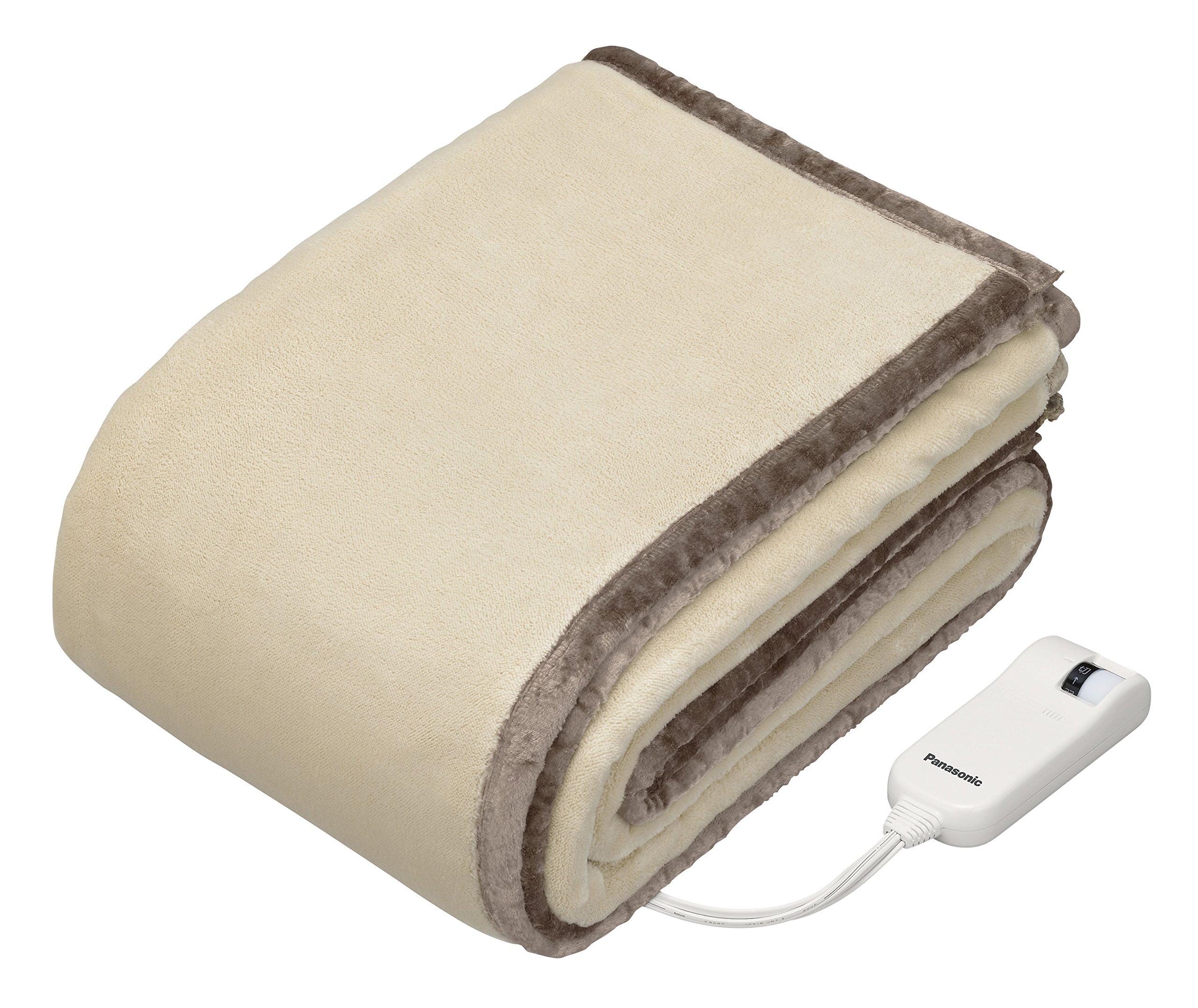 パナソニック 電気かけしき毛布 188×137cm 丸洗い可 ベージュ DB-RM3M-C