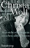 Man steht sehr bequem zwischen allen Fronten: Briefe 1952-2011 (German Edition)