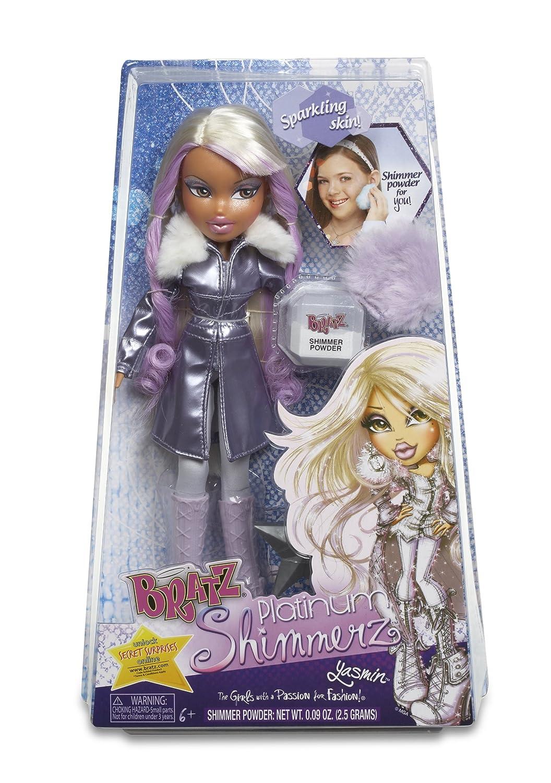 Bratz Platinum Shimmer Doll Yasmin MGA Entertainment 507192 43C7A0B4