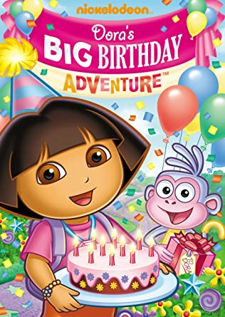 Amazoncom Doras Big Birthday Adventure Fatima Ptacek Regan