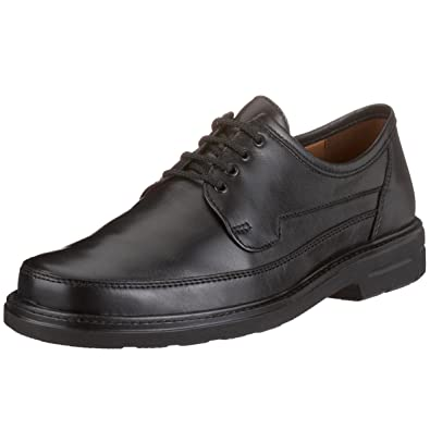 Sioux 26260 - Zapatos clásicos de cuero para hombre, color negro, talla 48