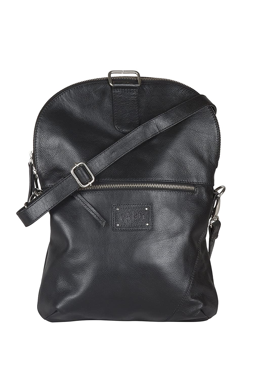 6323b09bfd Faro for Chokore Coco Women s Black Genuine Leather Solid Backpack   Amazon.in  Bags