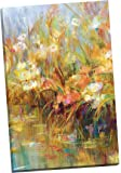 "Portfolio Canvas Decor ""Floral Reeds"" by Carson Wrapped/Stretched Canvas Wall Art, 24 x 36"""