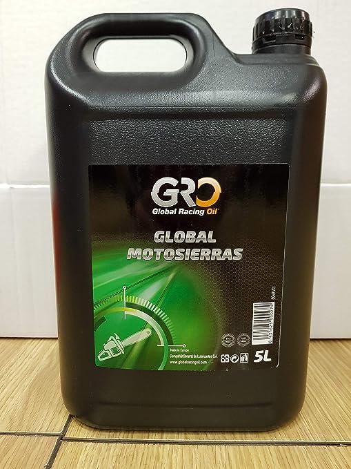gro Aceite Global MOTOSIERRAS 5 litros SAE 30: Amazon.es: Jardín