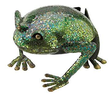 Regal Art Gift Mosaic Frog Decor
