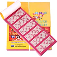 FOREMOST Deluxe Housie Tambola Tickets (Multicolour) - Set of 1800