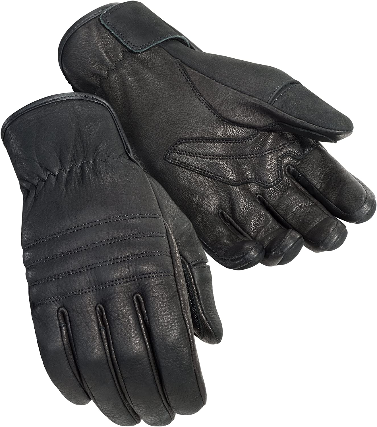 TourMaster Mens Nomad Cruiser Motorcycle Gloves Black, Small