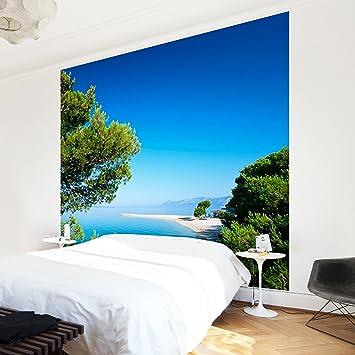 Apalis Vliestapete Hidden Paradise Fototapete Quadrat | Vlies Tapete  Wandtapete Wandbild Foto 3D Fototapete Für Schlafzimmer
