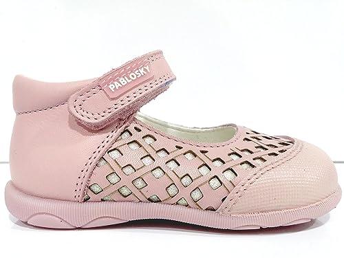 Venta barata recoger fábrica auténtica Zapatos Niña PABLOSKY Blanco Primeros Pasos Candy -001471 ...