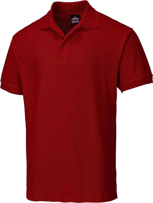 Portwest B210 - Camisa Polo Nápoles, color, talla 3 XL