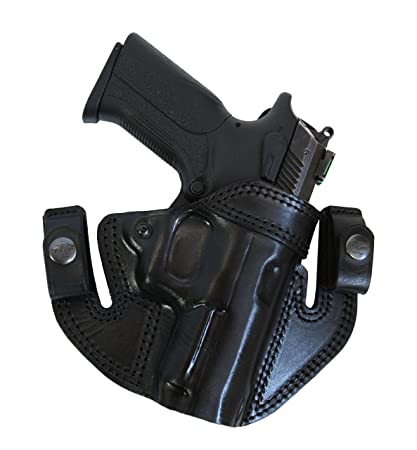 Falco Holsters IWB/OWB Leather Holster for Walther PPQ M2, 4
