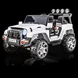 SPORTrax Awesome XL, 2 SEATER, 4WD Kid's Ride On Car, Battery Powered, Remote Control, w/FREE MP3 Player - White