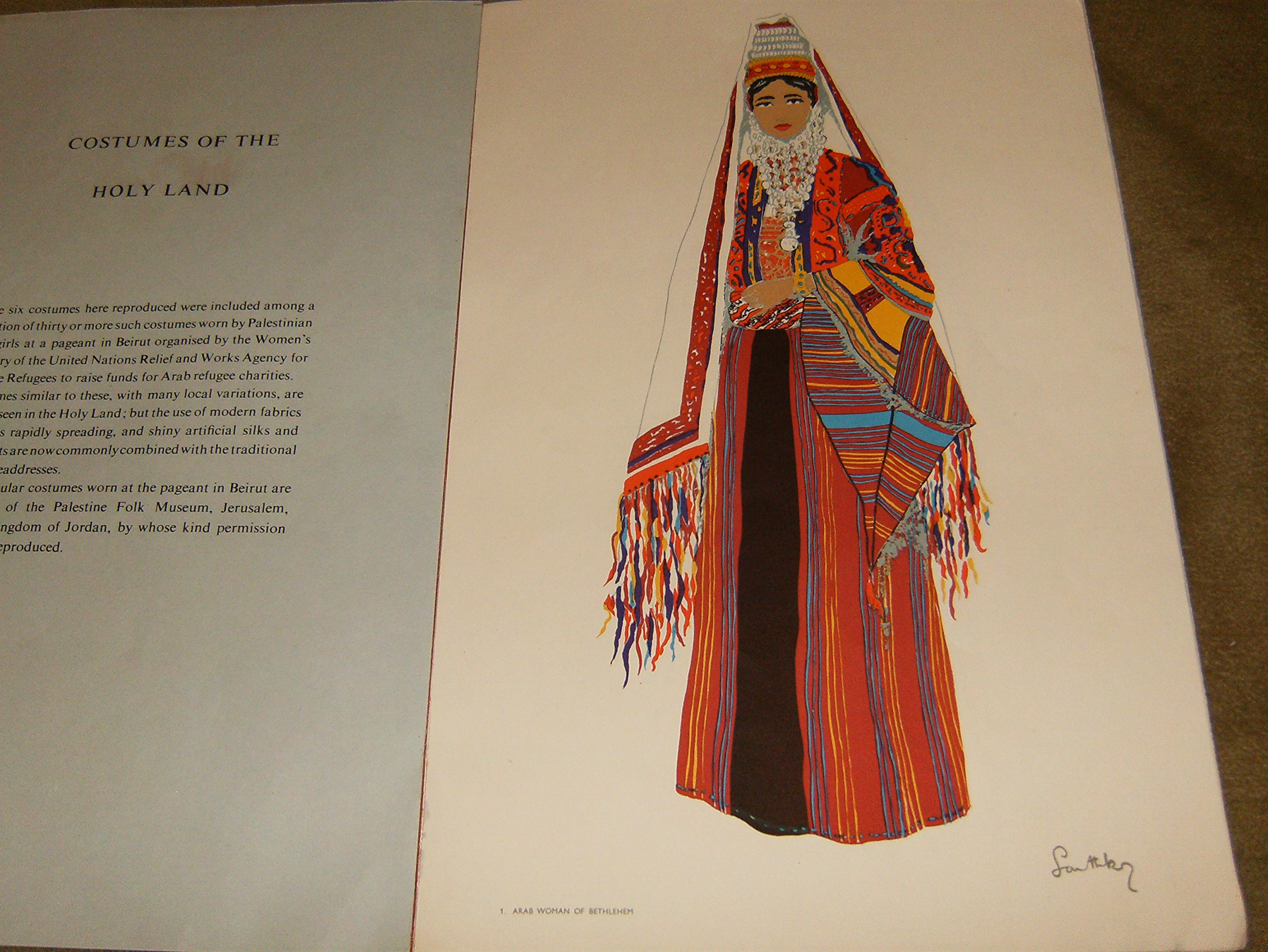 Artis Design Arad : Costumes of the holy land: amazon.co.uk: susan southby: books