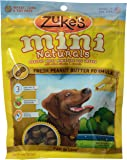 Zuke's, Mini Naturals Dog Treats, Peanut Butter, 6 oz