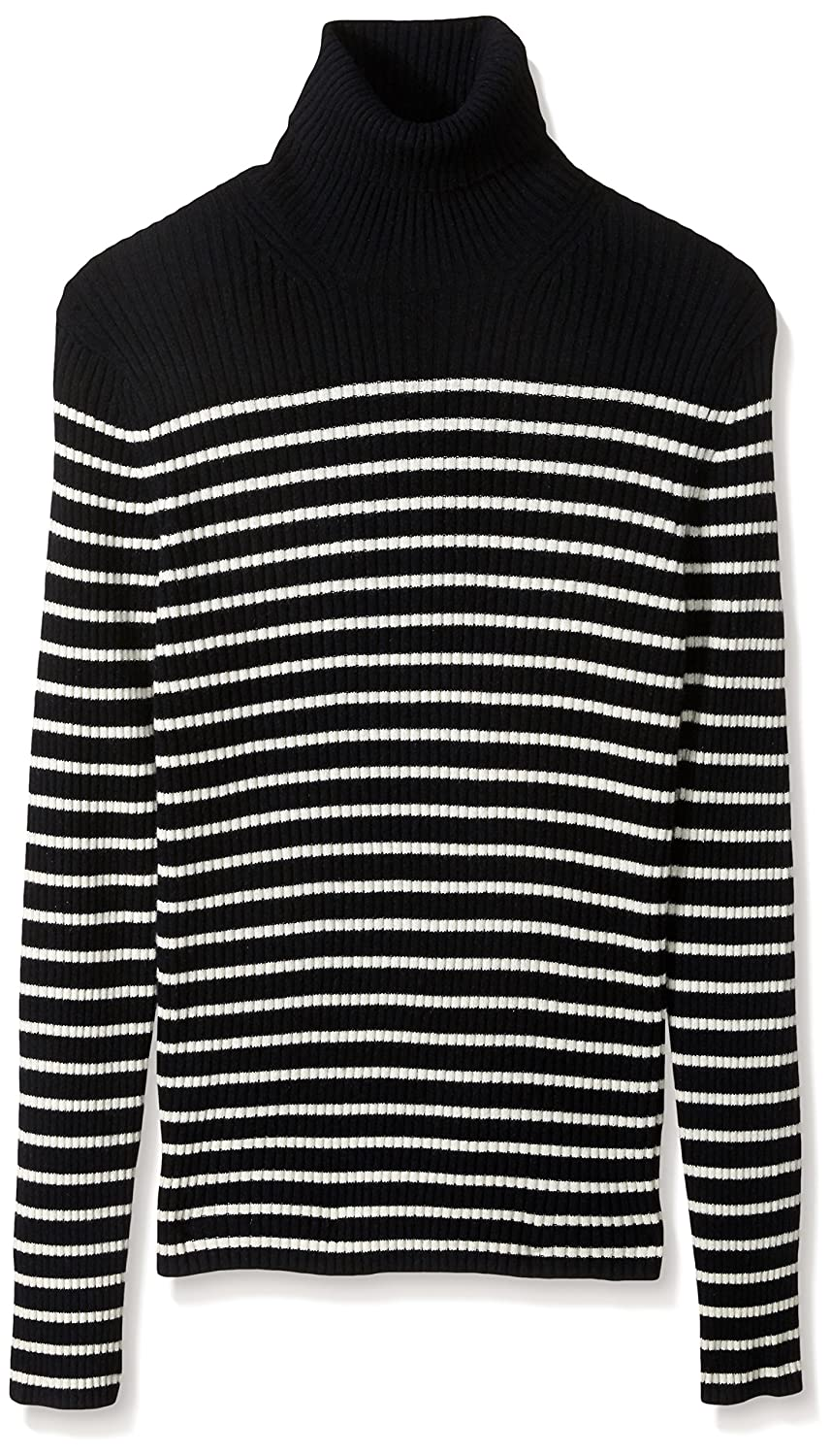 Vince Men's Bretton Stripe Cashmere Turtleneck Sweater M43596609