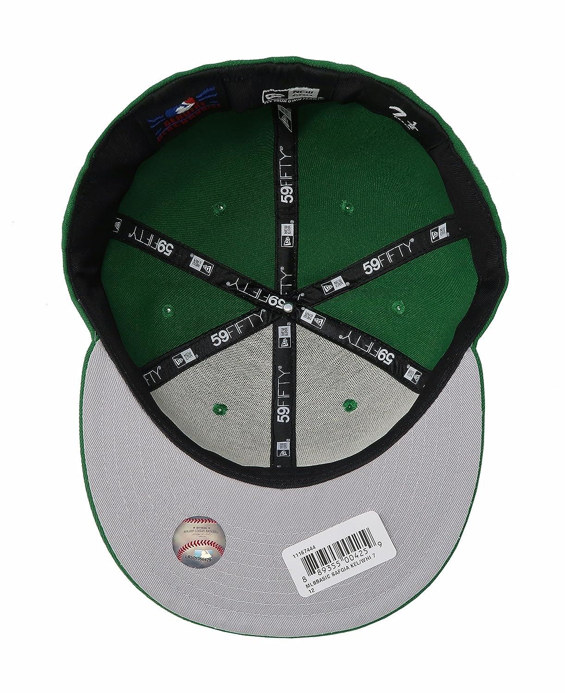 ed4afb028cdd2 Amazon.com  New Era 59Fifty Hat MLB San Francisco Giants Green Basic Fitted  Cap  Clothing