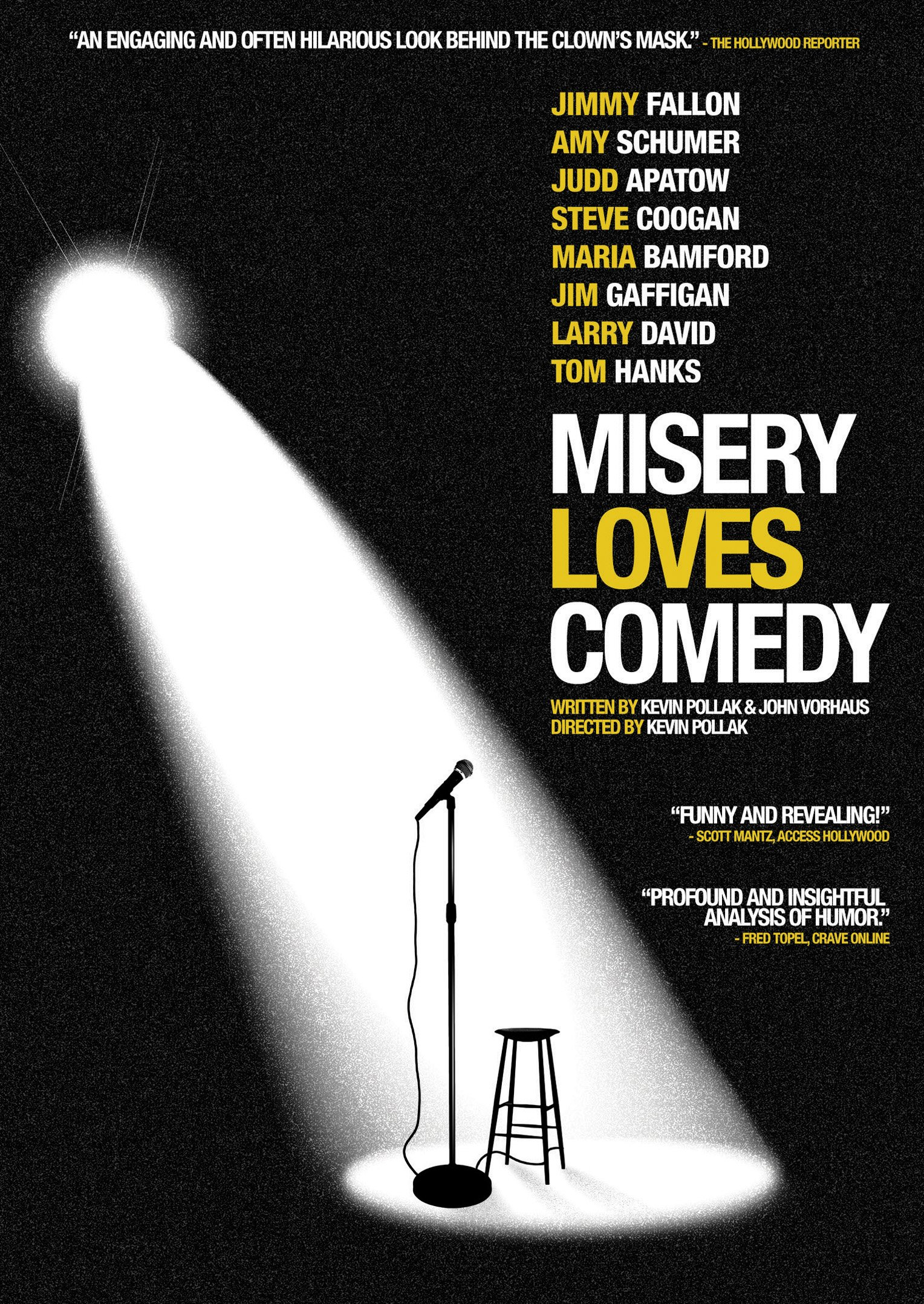 DVD : Misery Loves Comedy (Widescreen)