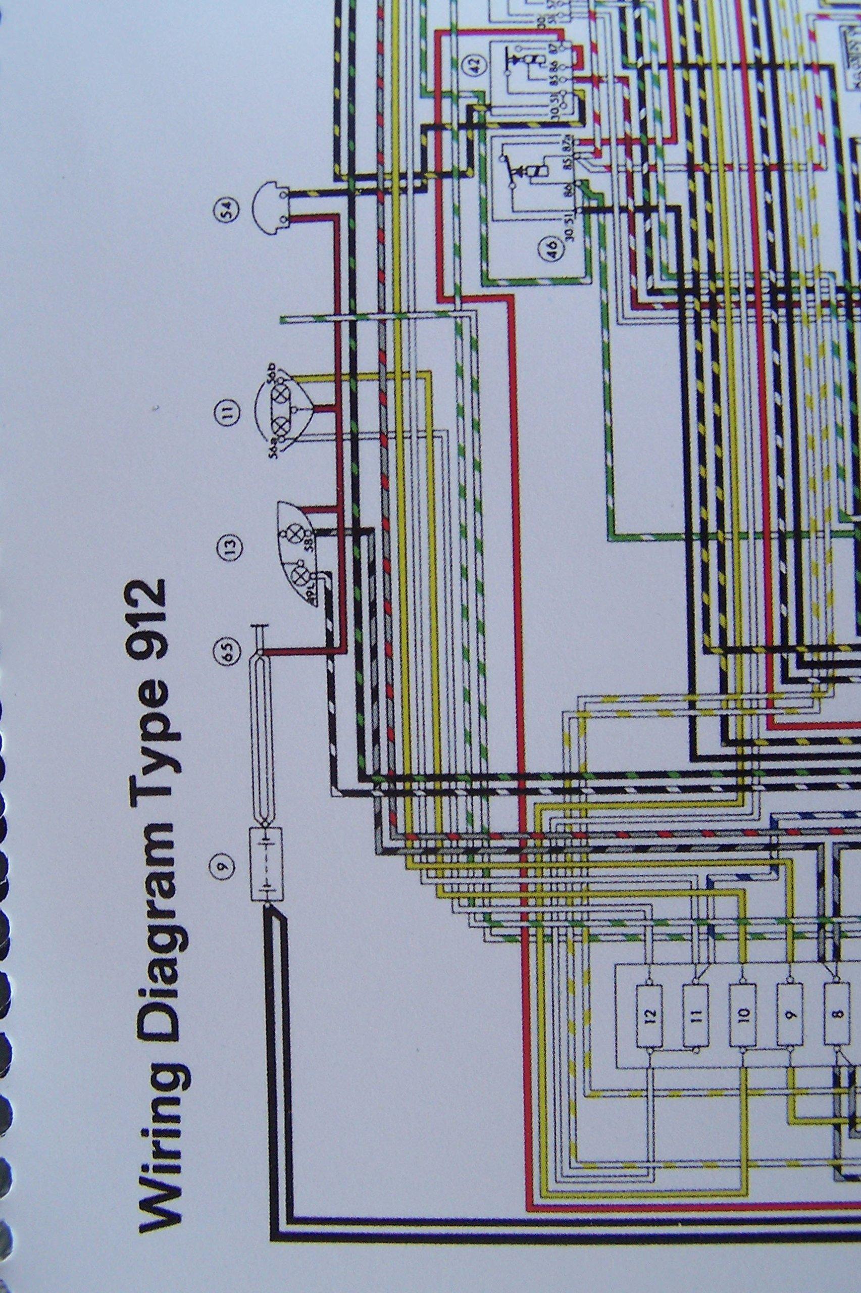 1967 Porsche 912 Wiring Diagram Wiring Diagrams Collection Collection Chatteriedelavalleedufelin Fr