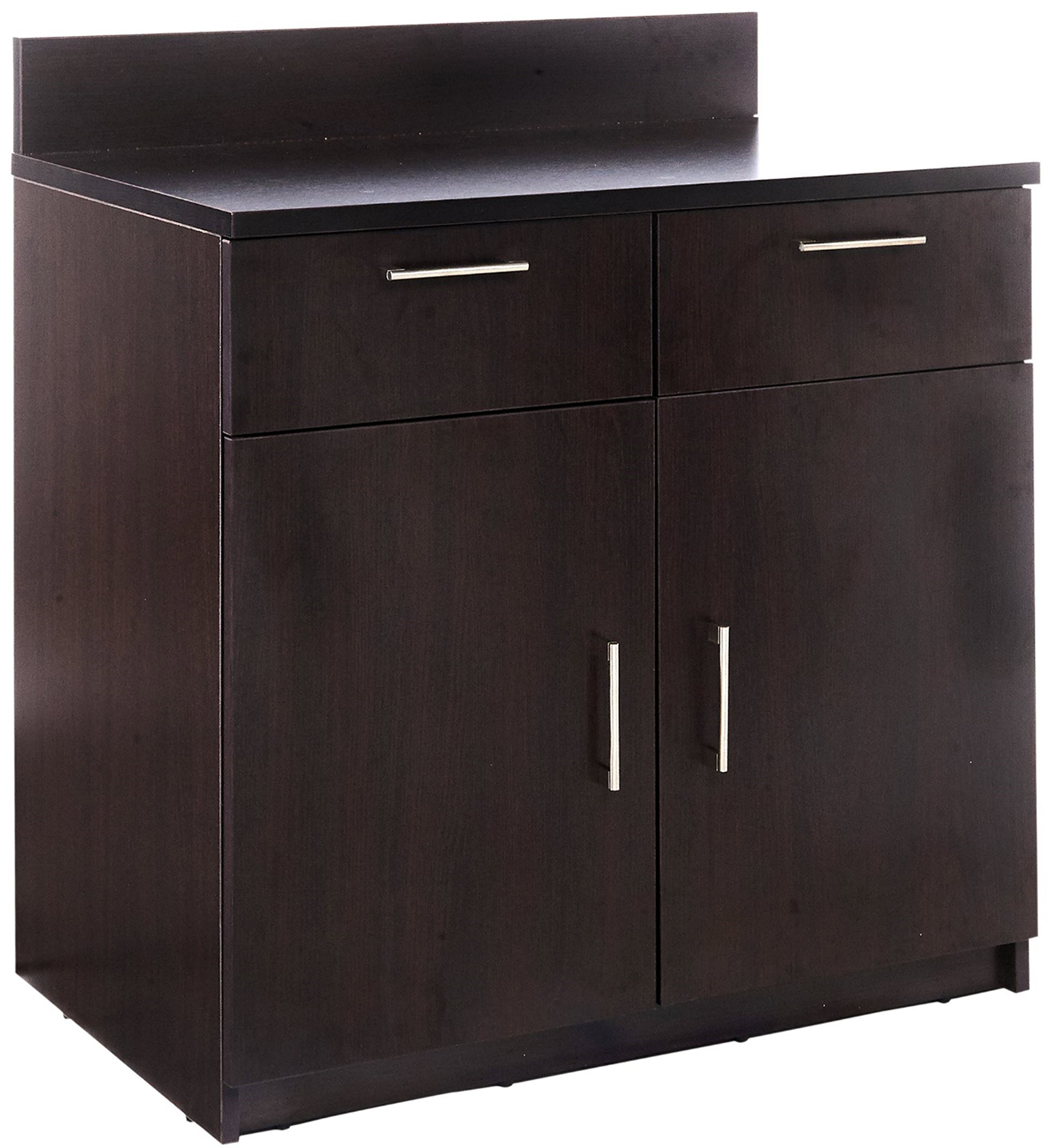 Breaktime 1 Piece Group Model 2091 Break Room Lunch Room Cabinet ''Ready-To-Install/Ready-To-Use'', Color Espresso