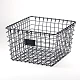 Spectrum Diversified Wire Storage Basket, Medium, Industrial Gray