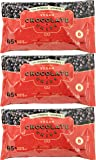 California Gourmet Chocolate Chips, Vegan Semi-Sweet With 45% Cacao Content, 10 Oz Pack (Pack of 3, Total of 30 Oz)