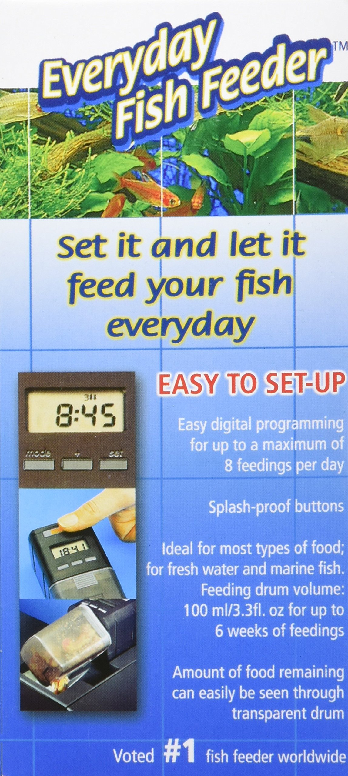 EHEIM Everyday Fish Feeder Programmable Automatic Food Dispenser by Eheim