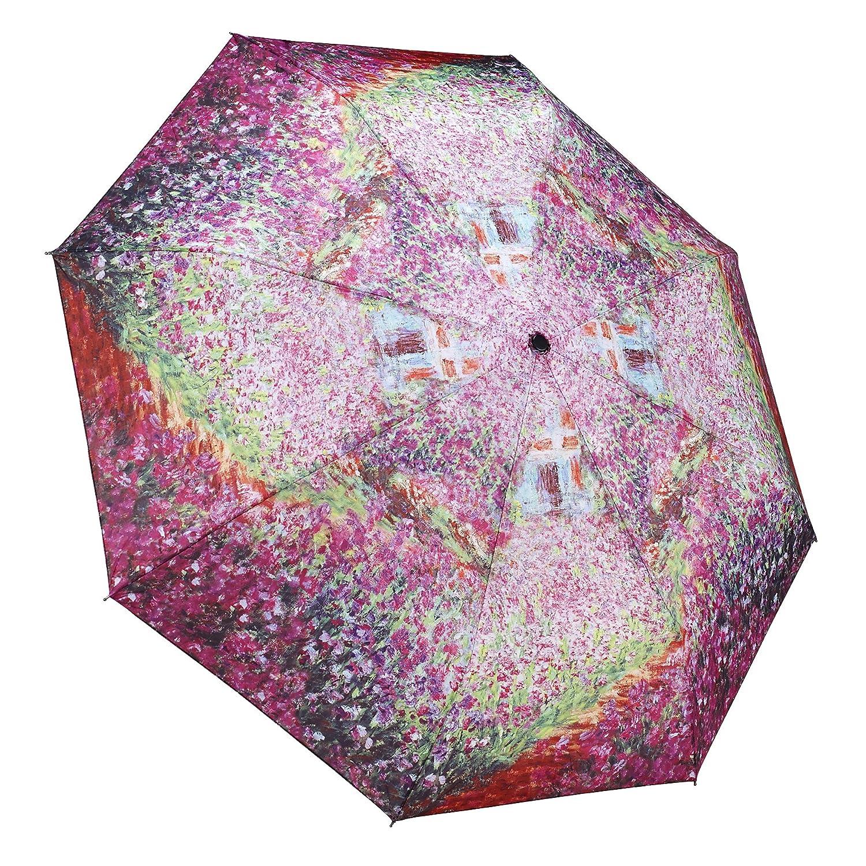 amazon com galleria monet u0027s garden folding umbrella monets
