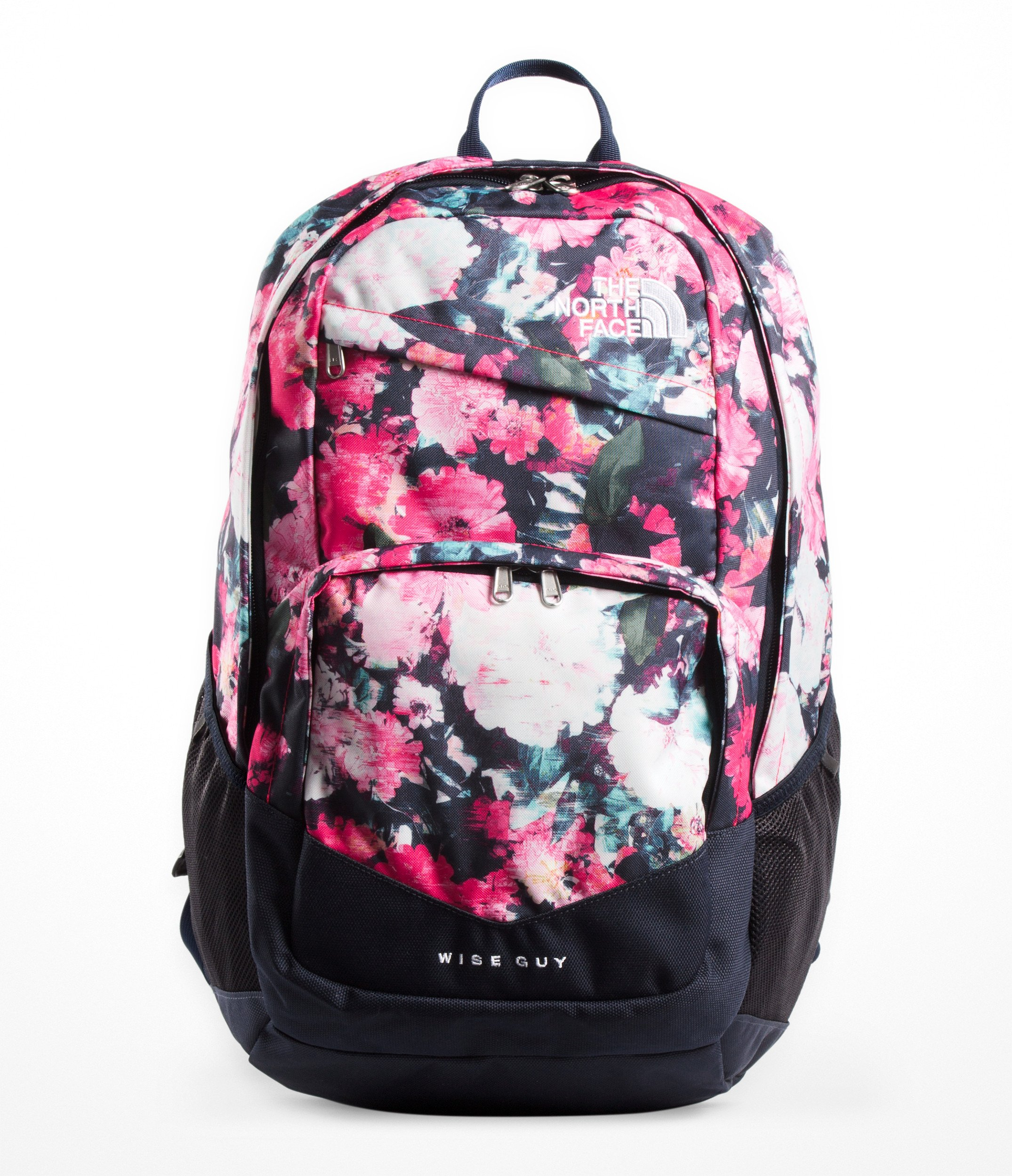 2ed0404b1 The North Face Wise Guy Backpack, Atomic Pink Digi Floral Print/Urban Navy