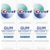 Crest Gum Detoxify Deep Clean Toothpaste Triple Pack, 12.3 Ounce