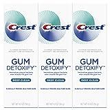 Crest Toothpaste Gum Detoxify Deep Clean, 4.1oz