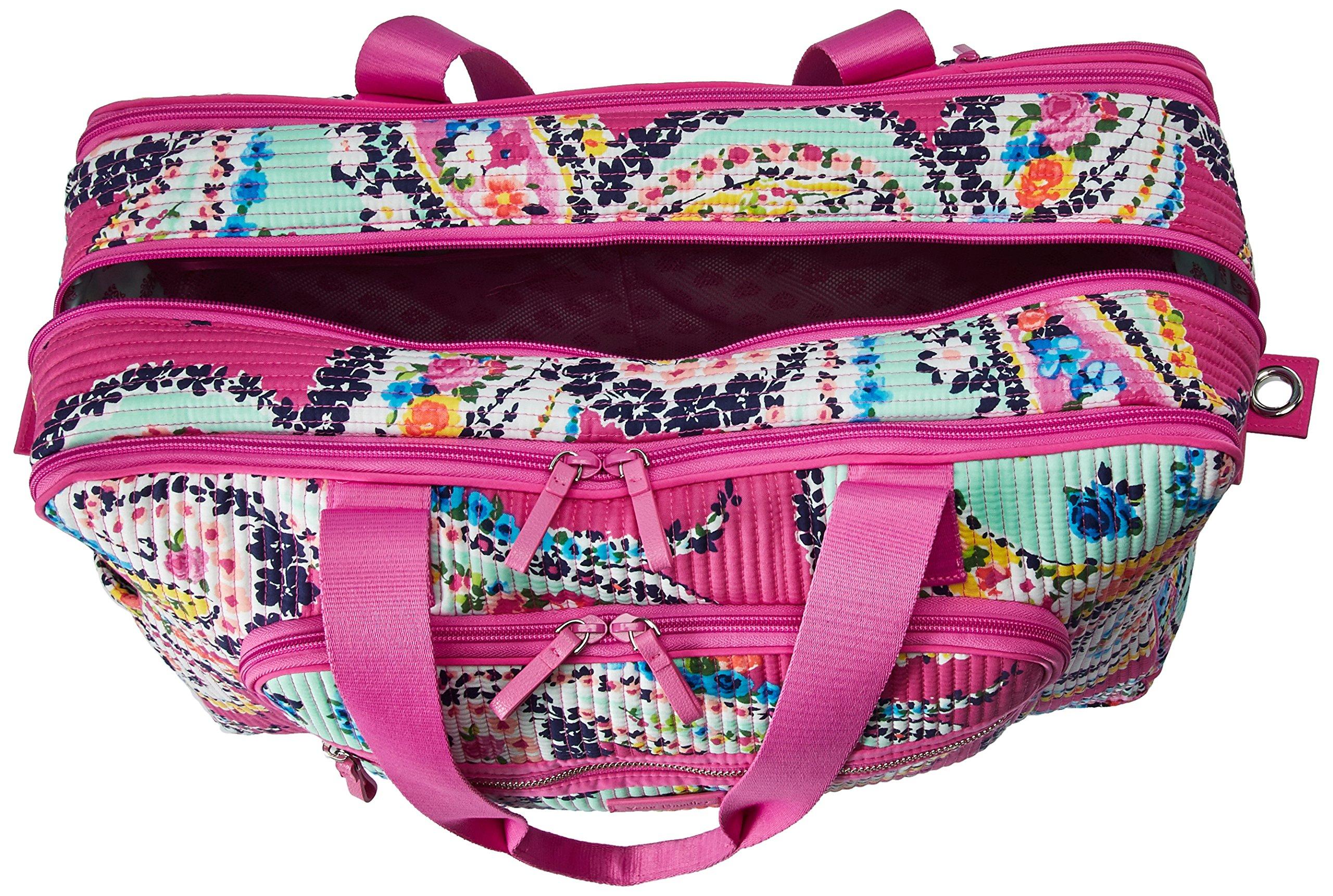 Vera Bradley Iconic Deluxe Weekender Travel Bag, Signature Cotton by Vera Bradley (Image #5)