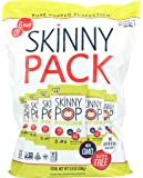 SKINNYPOP Original Popped Popcorn, Skinny Pack, Individual Bags, Gluten Free Popcorn, Non-GMO, No Artificial Ingredients, A Delicious Source of Fiber, 6 Count (3.9 Ounce)