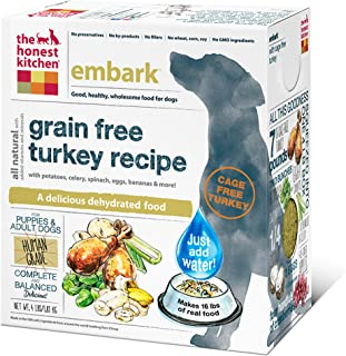 product image for The Honest Kitchen Embark: Grain Free Turkey Dog Food 4 Pound