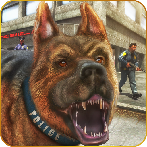 Police Dog Attack In Breakout jail Evolution 3D: Vegas City Gangster Crime In Prison Escape Survival Adventure Mission Games Free For Kids 2018 ()