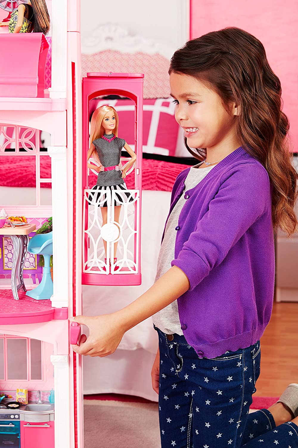Barbie Dream House With Elevator For Kids Toys Reviewed In 2019