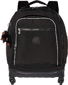 Kipling Luggage Echo ll Wheeled Backpack, black tonal, One Size