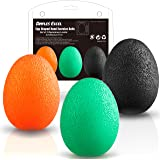 Dimples Excel Egg Balle Anti Stress Antistress Ball Balle d'Exercice de Renforcement de la Main- Set De 3 Résistance