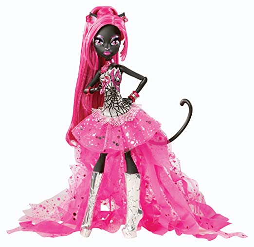 Mattel Monster High Catty Noir Doll Fashion Dolls at amazon