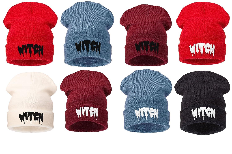 4sold Mens Womens Beanie Hat Winter Warm Black Bad Hair Day Fun Oversized hat