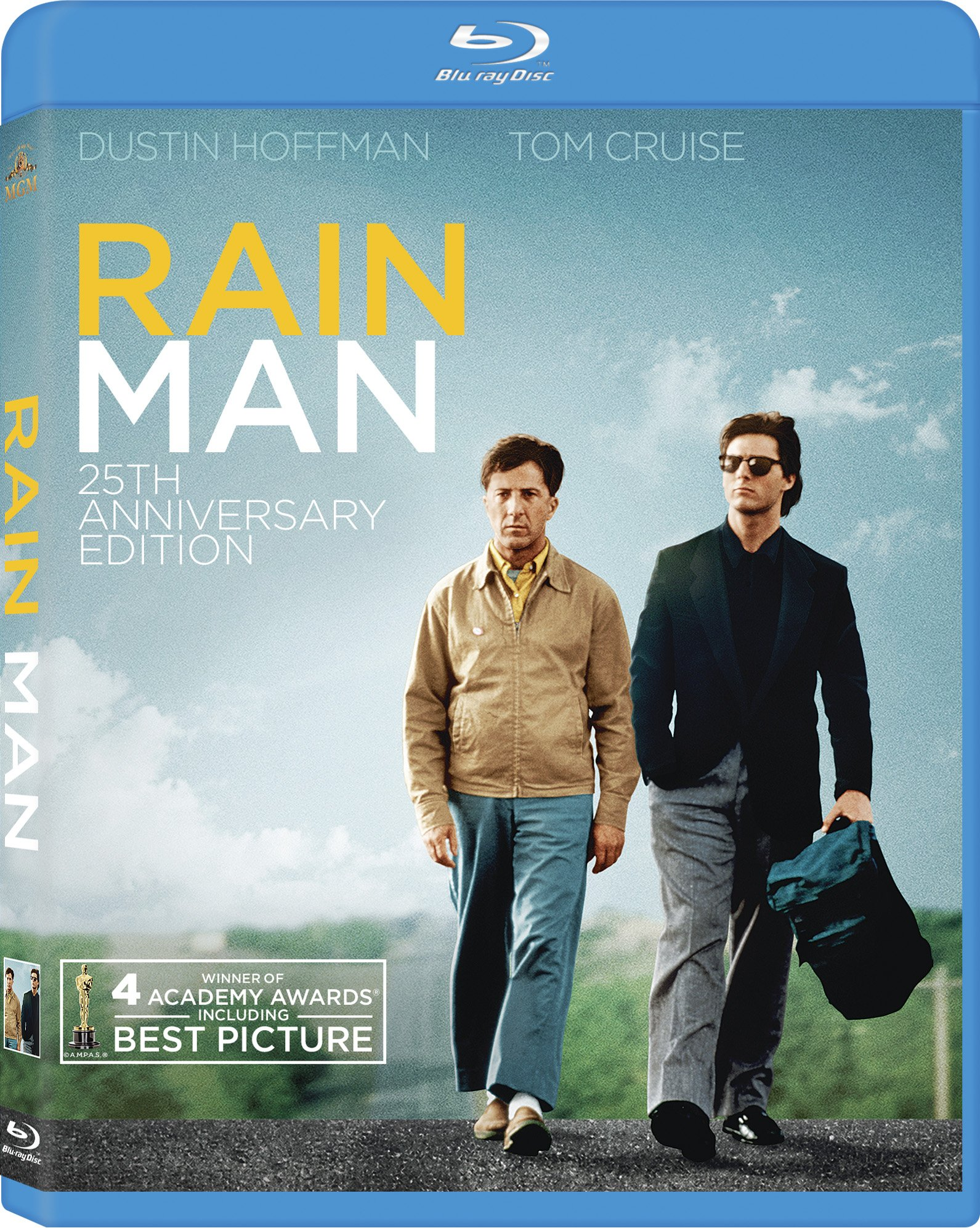 Blu-ray : Rain Man (Remastered, Digital Theater System, AC-3, Dolby, Widescreen)
