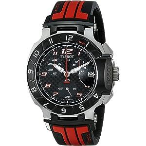 Tissot Mens T0484172720701 T-Race MotoGP Limited Edition Analog Display Swiss Quartz Red Watch