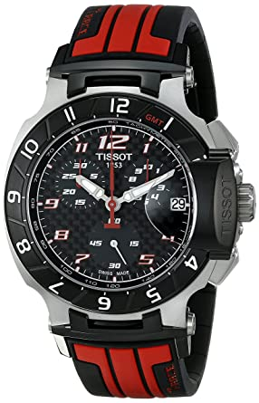 f6e4867af Image Unavailable. Image not available for. Color: Tissot Men's  T0484172720701 T-Race MotoGP ...