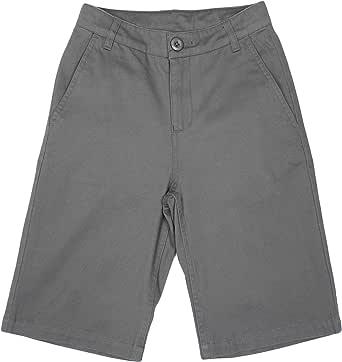 Bienzoe Niño Uniformes Escolares Algodón Bermudas Pantalones Cortos