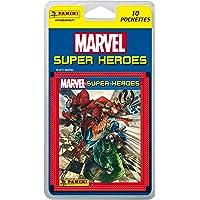 Blíster Marvel Súper Héroes. 10 sobres (50 estampas)