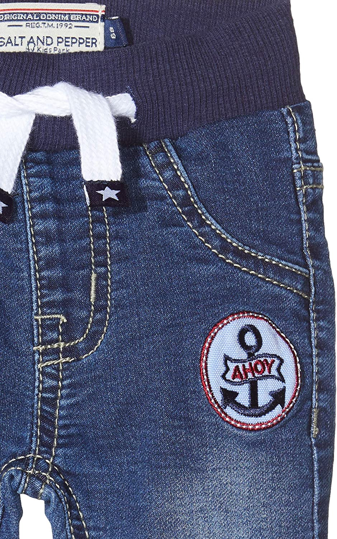 Salt /& Pepper Baby/_Girls Jeans Cosy Friends Badge