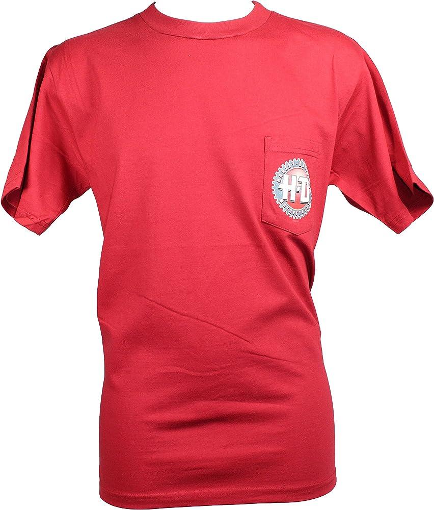 Harley-Davidson - Camiseta - para hombre Rojo rojo L: Amazon.es: Ropa y accesorios